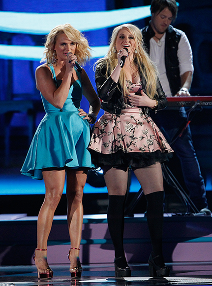 Miranda Lambert and Meghan Trainor