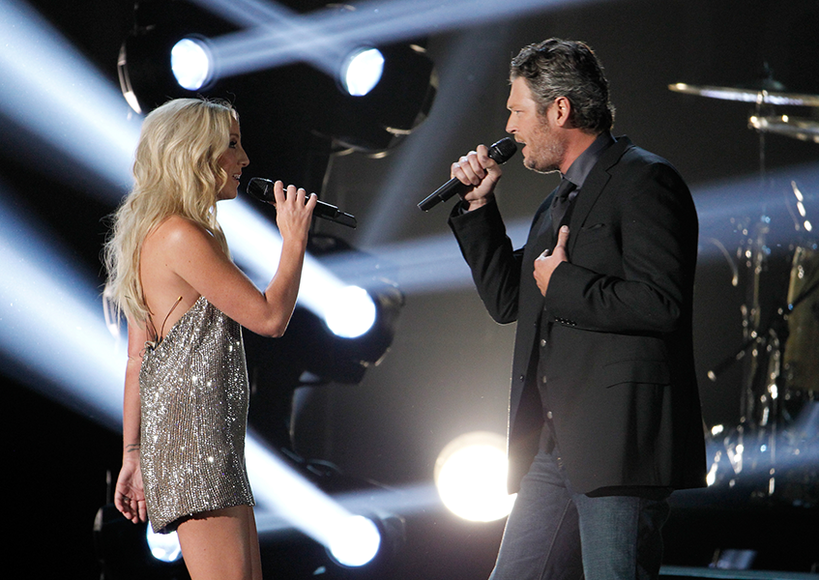 Ashley Monroe and Blake Shelton