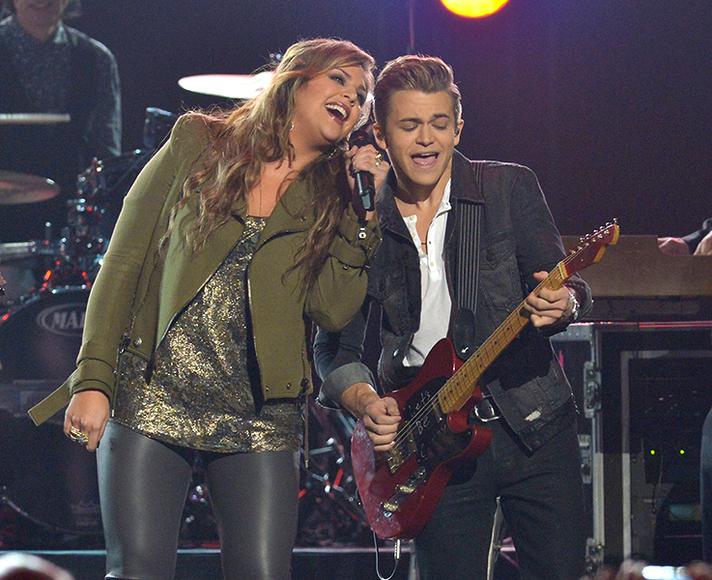 Hillary Scott from Lady Antebellum and Hunter Hayes