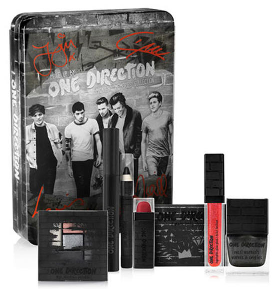 In addition to signature scents, this year One Direction launched a makeup line giving fans the chance to channel their inner rocker, party girl or girl next door.