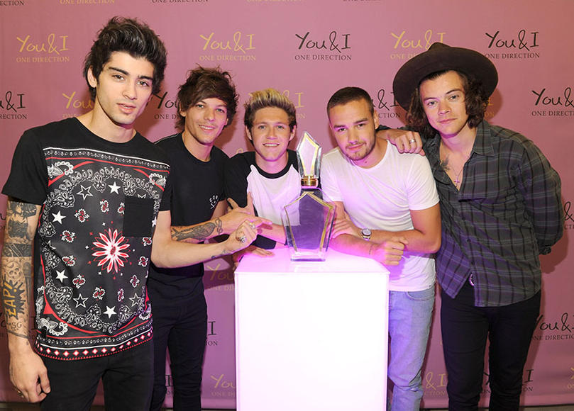 "In August, the group released their third perfume ""You & I"" to keep One Direction fans smelling fun & fruity."