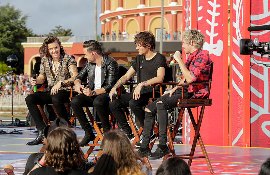 In honor of the release of Four, One Direction appeared on NBC's Today show for a concert and Q&A from Universal City Walk in Orlando, Florida. Later in the year 1D will appear on the AMAs and NBC will host a One Direction holiday special! Keep an eye out for more 1D fun this year!
