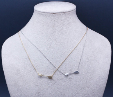 Big Piercing Arrow Necklace