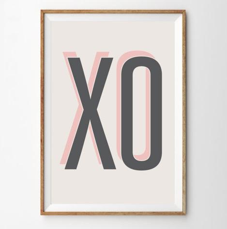 XO Art Print
