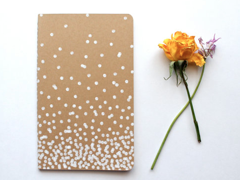 Blank Moleskin Notebook