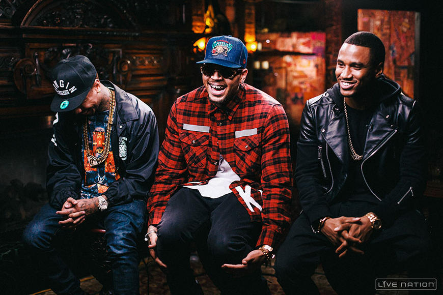 Chris Brown, Trey Songz, Tyga