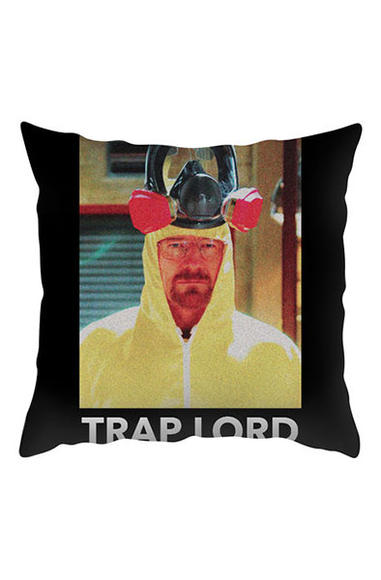 Trap Lord throw pillow