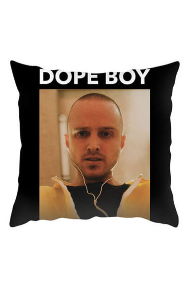 Dope boy throw pillow