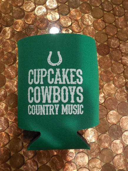 Country music koozie