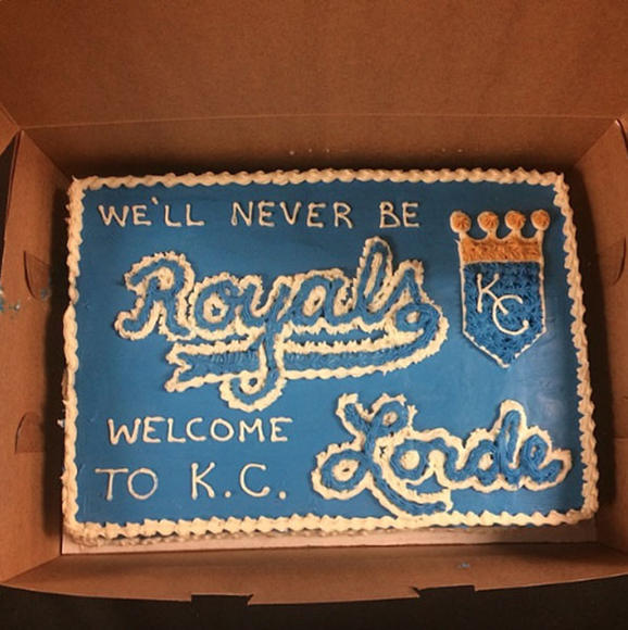 """Royals"" became the theme song of the Kansas City Royals during the World Series."