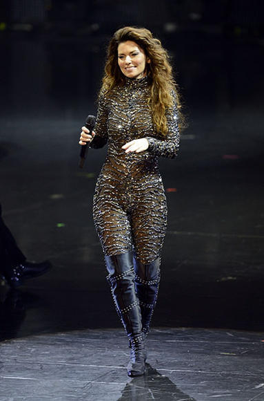 """Shania Twain: Her last studio album was 2002's """"Up!"""", we need new music from this country Queen, like yesterday."""