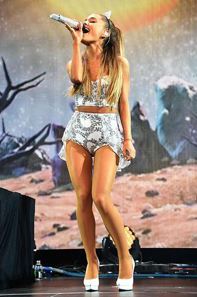 Ariana Grande at HOT 99.5's Jingle Ball 2014 in Washington, D.C.