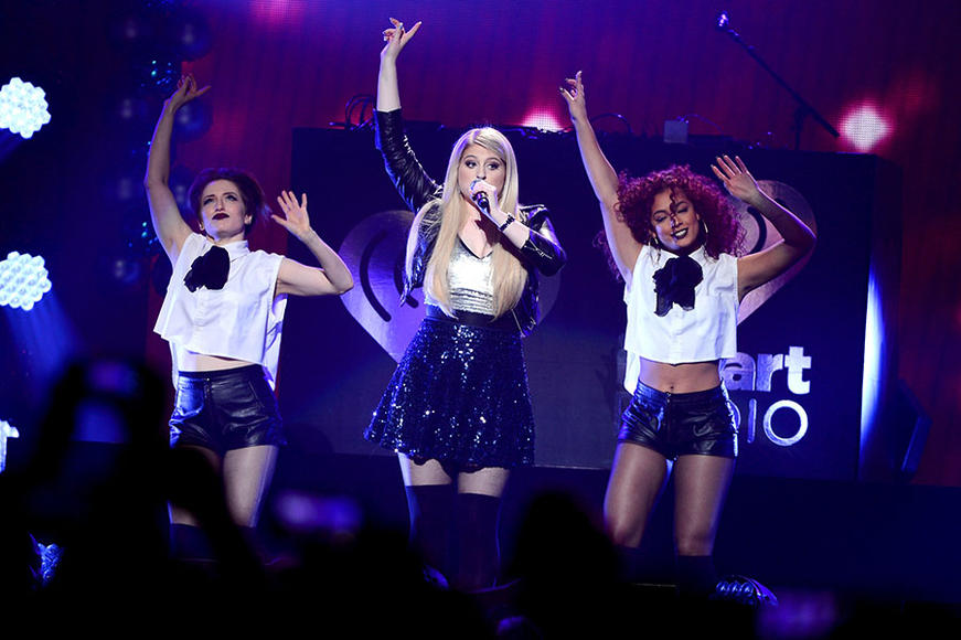 Meghan Trainor at HOT 99.5's Jingle Ball 2014 in Washington, D.C.