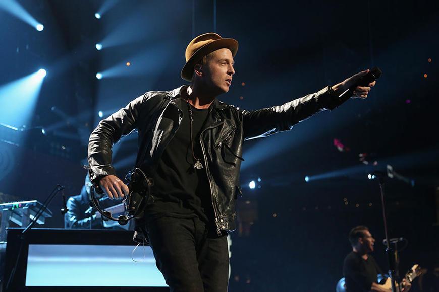 OneRepublic at KISS 108's Jingle Ball 2014 in Boston.