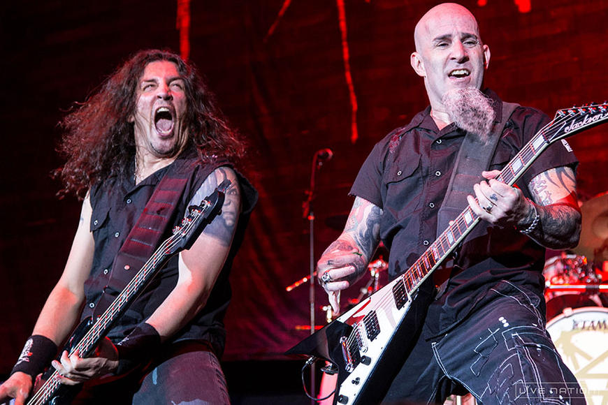 Anthrax - Tour kicks off April 24