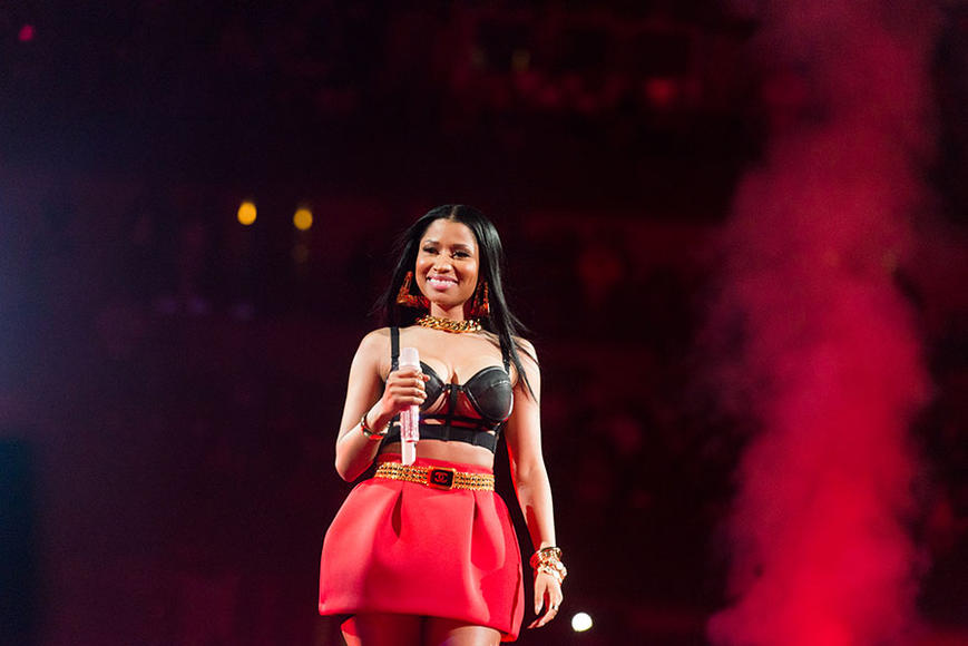 Nicki Minaj - Tour kicks off March 19