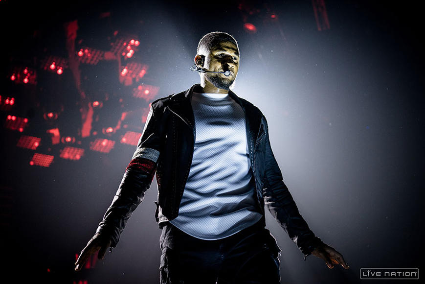 Usher - Tour kicks off February 27