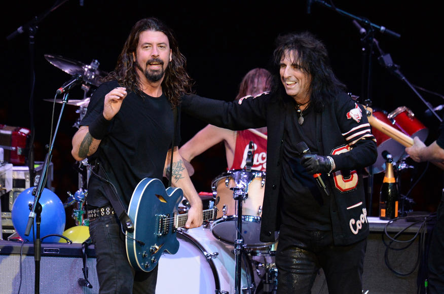 With Alice Cooper