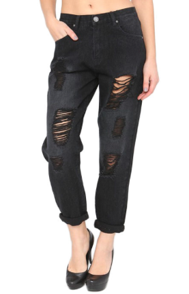 The Stressed Out Boyfriend Jeans