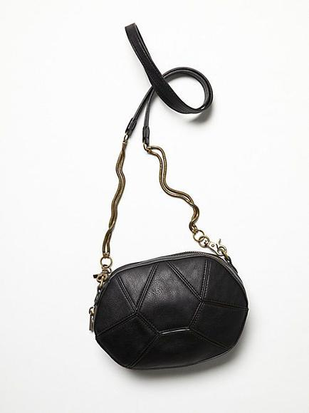 Free People Vegan Geo Panel Crossbody