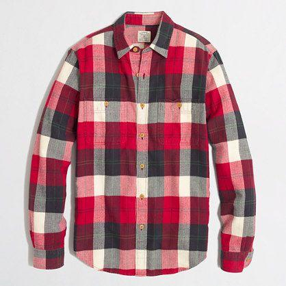 Factory Flannel Workshirt