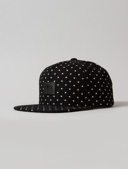 Flannel Dot Snapback