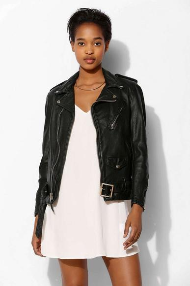Schott Ex-Boyfriend Leather Moto Jacket