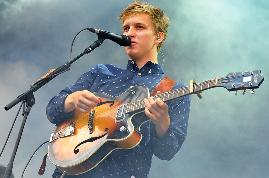 George Ezra opening for Sam Smith