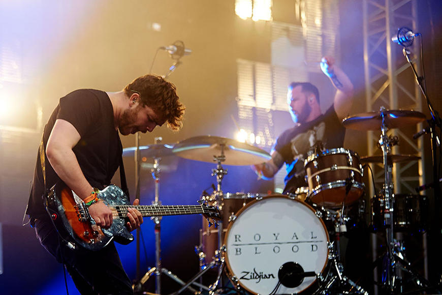 Royal Blood opening for Foo Fighters