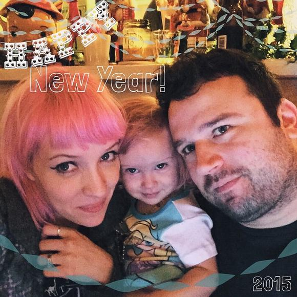 SWEET LOVE: Sherri DuPree of Eisley and Max Bemis of Say Anything