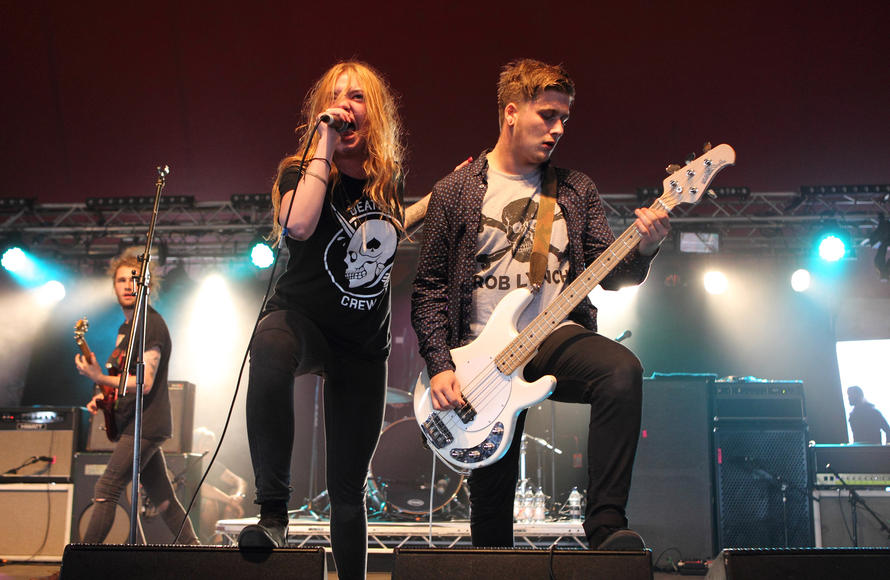 Marmozets opening for The Used