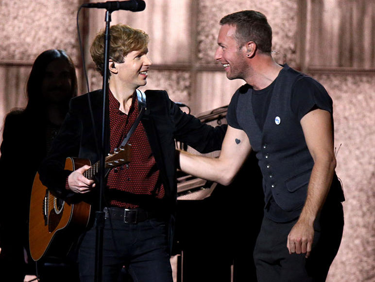 Beck & Chris Martin