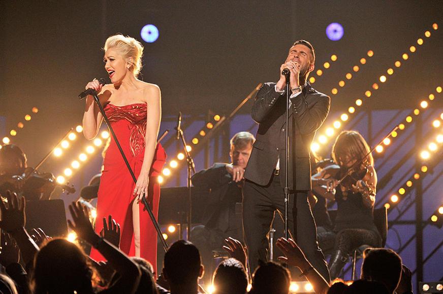 Gwen Stefani & Adam Levine