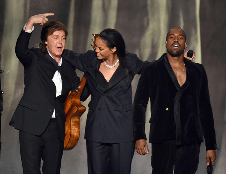 Paul McCartney, Rihanna & Kanye West