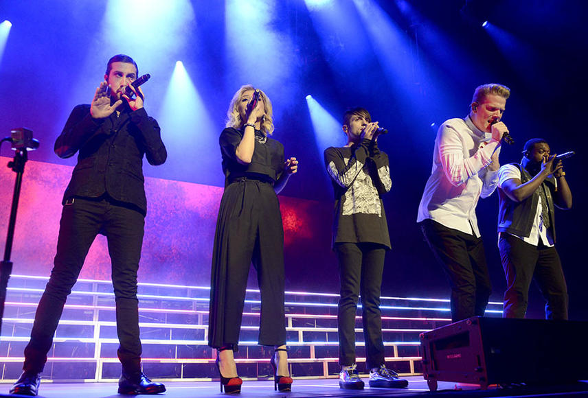 Pentatonix for Kelly Clarkson