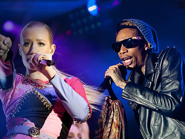 Iggy Azalea and Wiz Khalifa: Go Hard or Go Home