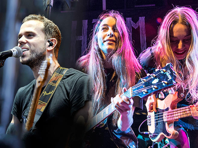 HAIM and M83: Holes in the Sky