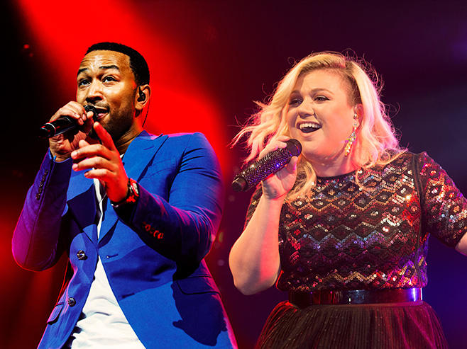 Kelly Clarkson and John Legend: Run Run Run