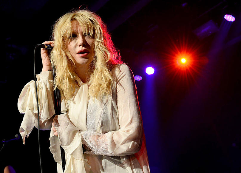 Courtney Love for Lana Del Rey