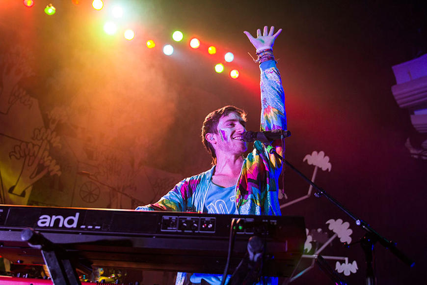 "Walk the Moon: Throw on some facepaint and get ready to ""Shut Up and Dance"" with Walk the Moon on their Talking is Hard Tour!"