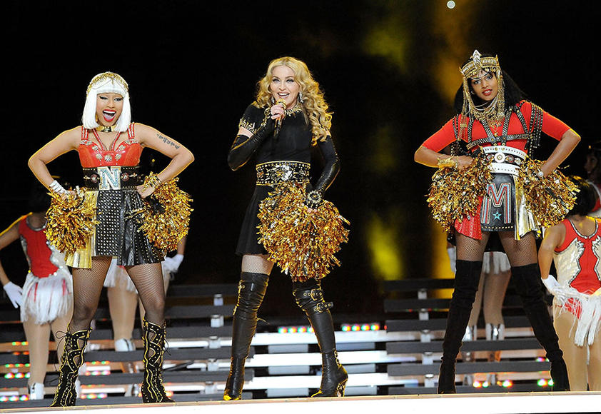 Nicki + Madonna + M.I.A. - Give Me All Your Luvin'