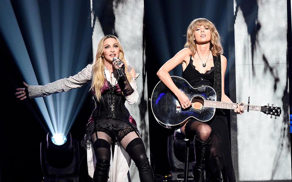 Madonna & Taylor Swift