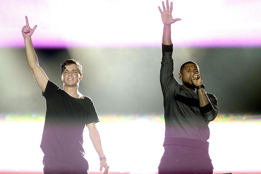 Martin Garrix and Usher