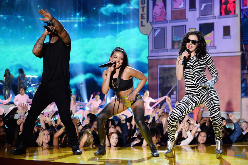 Charli XCX, Tinashe & Ty Dolla $ign at the MTV Movie Awards