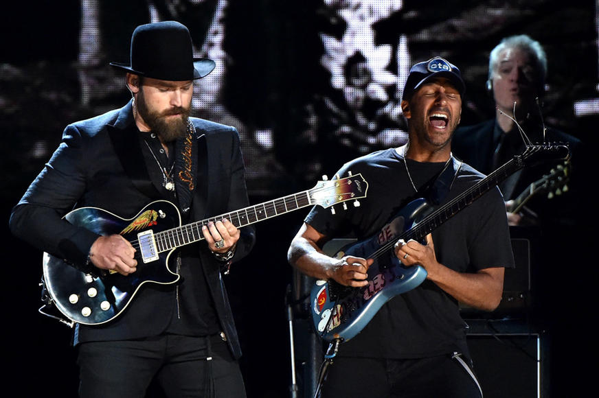 Zac Brown and Tom Morello