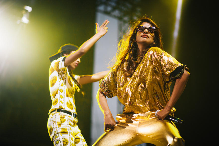 "M.I.A.: When M.I.A. speaks her mind, we listen. Rumor has it she's been spotted in the studio! But even without new music, we still play ""Bad Girls"" on the regular."