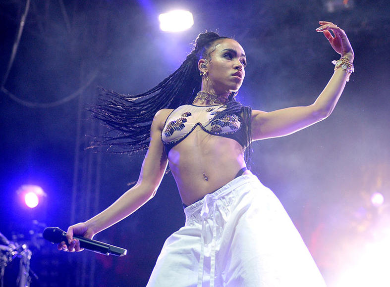 FKA Twigs at Coachella