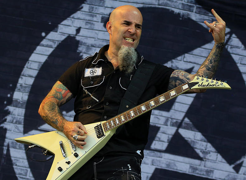 Scott Ian of Anthrax at Rocklahoma