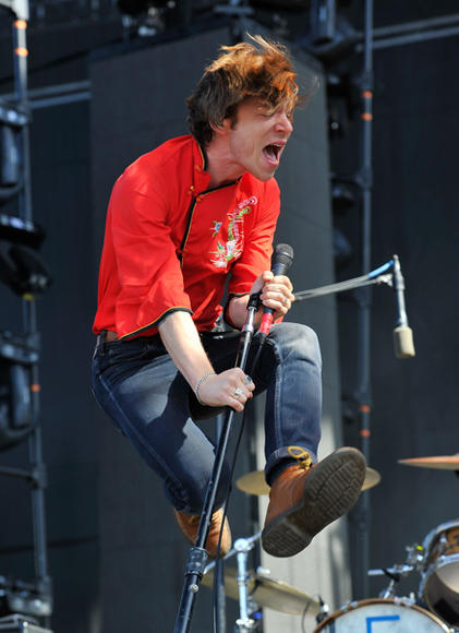 Cage the Elephant at Bottle Rock Festival