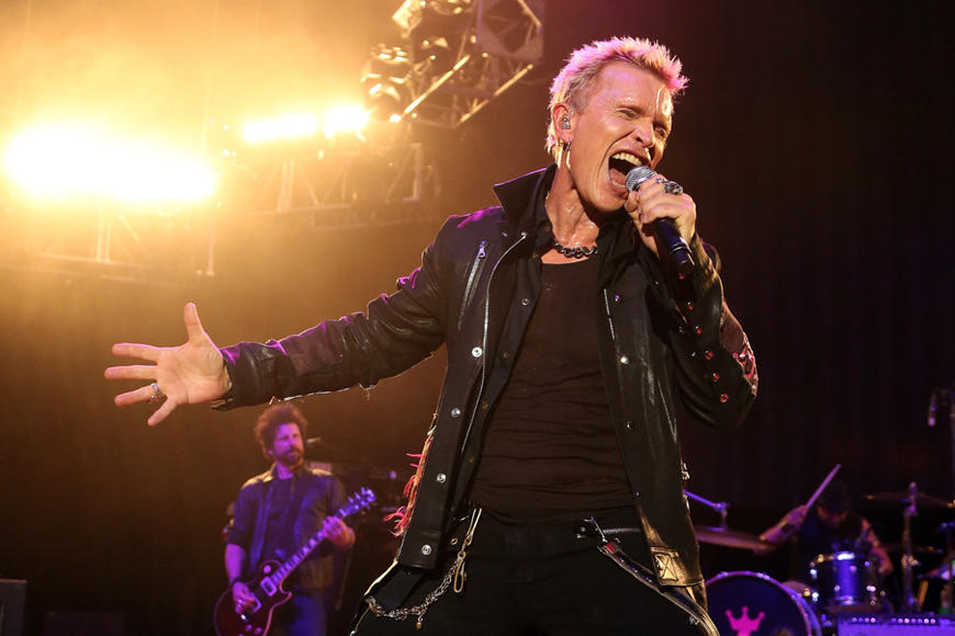 Billy Idol at Sweetlife Festival